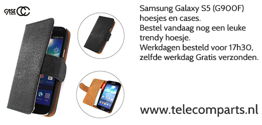 Samsung Galaxy S5 hoesjes/cases